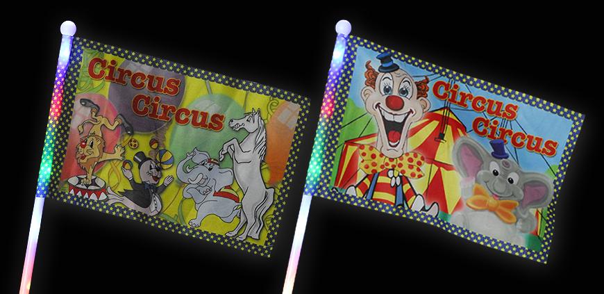 LED Circusfahnen