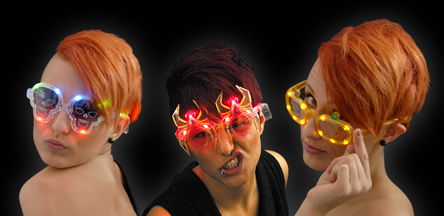 LED Brillen