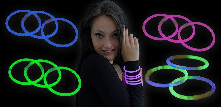 Knicklicht Armbänder