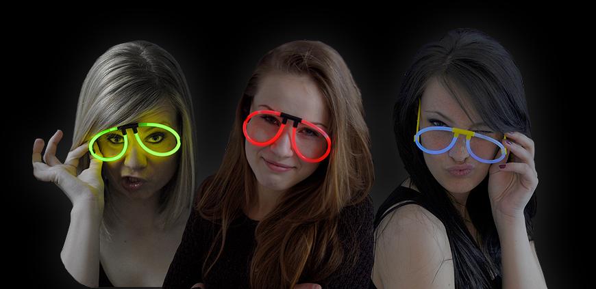 Knicklicht Brillen