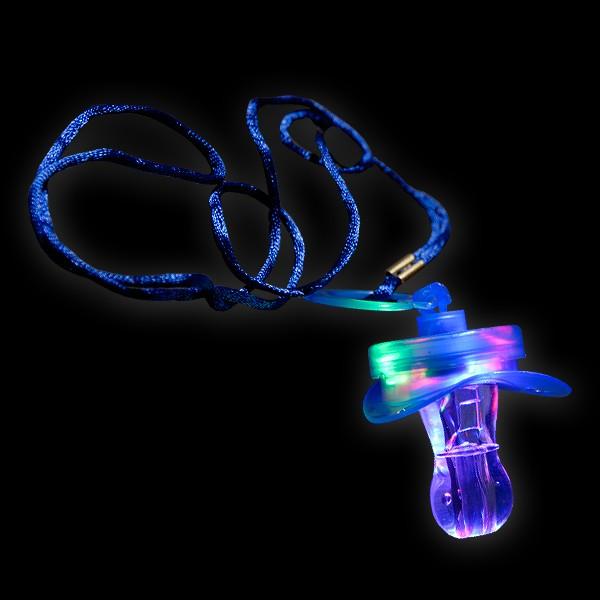 """LED Blink Schnuller """"Blau"""""""