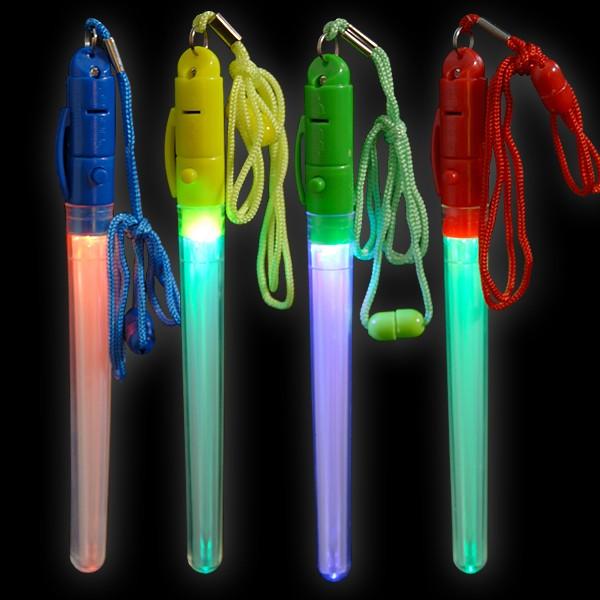 LED Blitzlaser Stick Regenbogen