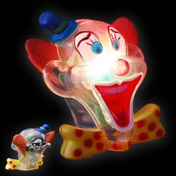 "LED Clown Brosche ""Clowny"""