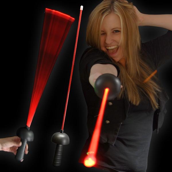 """LED Laser Degen """"Black Edition Rot"""""""