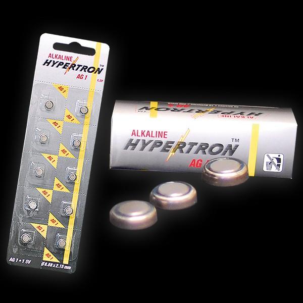 """Hypertron Batterie 1,5V """"AG 1"""" Knopfzelle"""