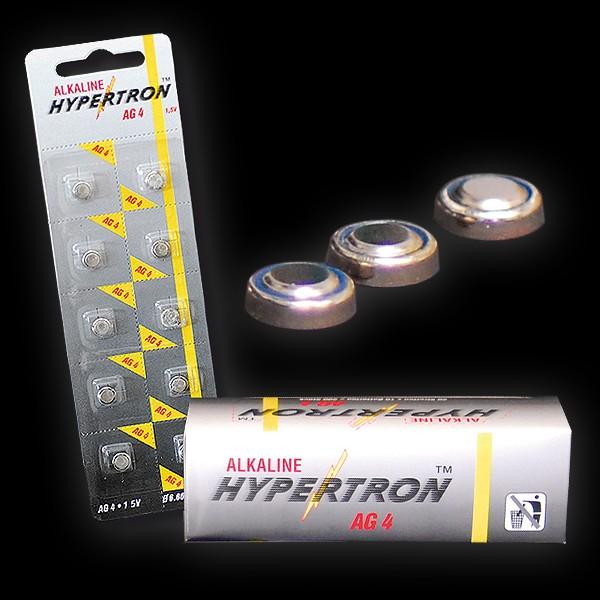 """Hypertron Batterie 1,5V """"AG 4"""" Knopfzelle"""