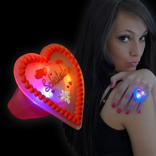 "LED Lebkuchen Ring ""Schatzilein"""