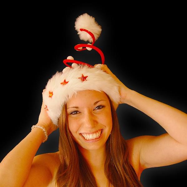 """Blinkende Weihnachtsspirale """"Flöckchen"""""""