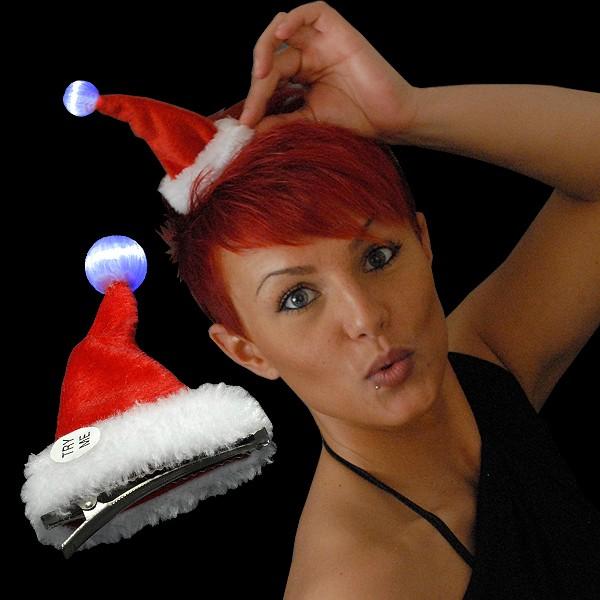 """Weihnachts Mini Mütze """"Leuchtbommel"""""""