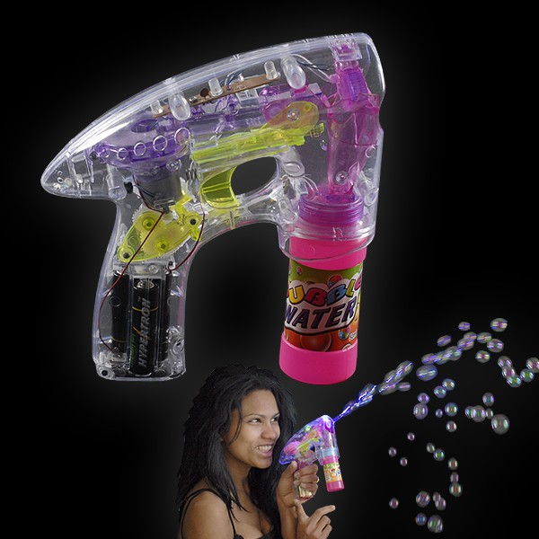 "LED Seifenblasen Pistole ""Blasenspaß"""