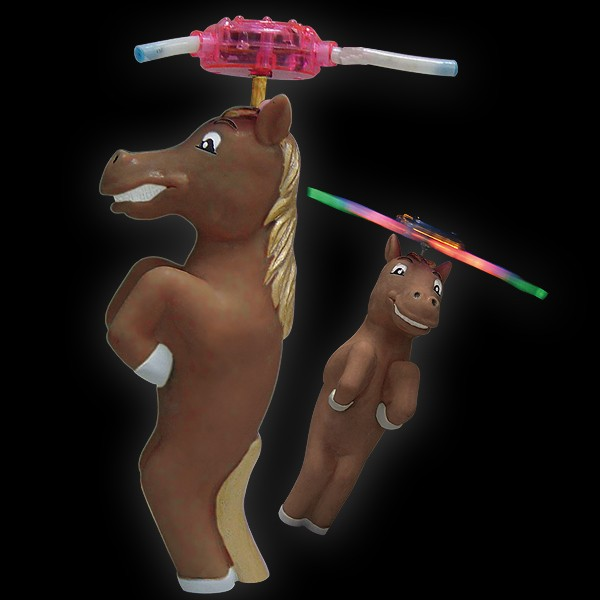 "LED Rotor Comic ""Pferd"""