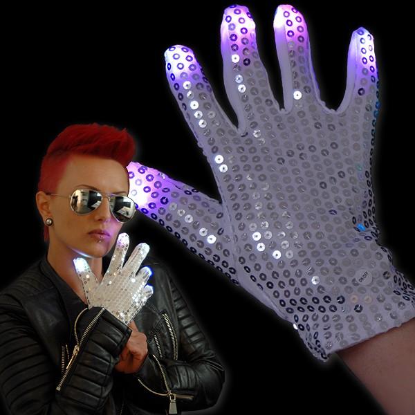 "LED Handschuh ""Funkel Fingers Rechts"""