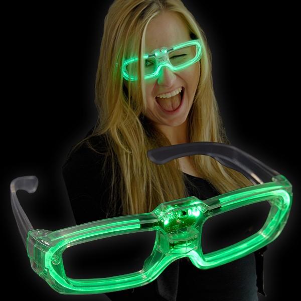 """LED Laser Brille """"Grün"""""""