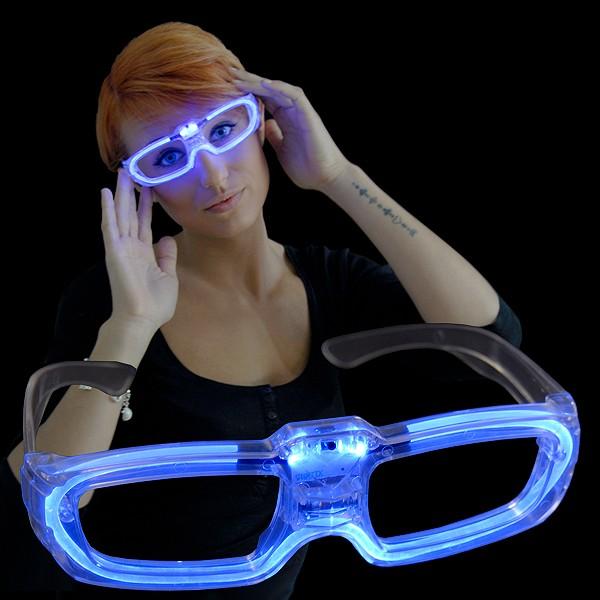 """LED Laser Brille """"Blau"""""""