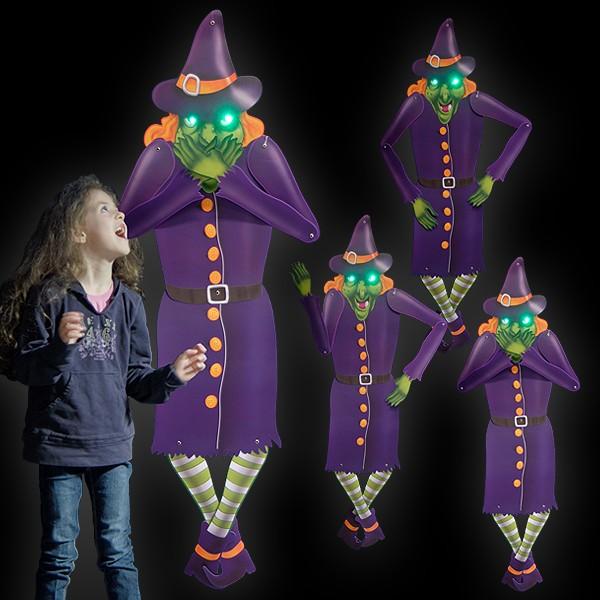 "LED Halloween Deko Figur ""Hilde"""