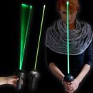 "LED Laser Degen ""Black Edition Grün"""