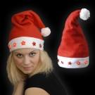 """Weihnachtsmütze """"5 Blinksterne Rot"""""""
