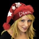 """Weihnachtsmütze """"Diva"""""""