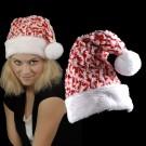 """Weihnachtsmütze """"Kuschel Wuschel Rot/Weiß"""""""