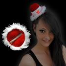 "Weihnachts Mini Mütze ""Sombrero"""