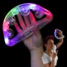 """LED Schellenkranz Mit Licht """"Transparent"""" 180 Grad"""