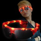 """LED Trend Brille Sport """"Rot"""""""