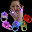 LED Kristall Ring Regenbogen