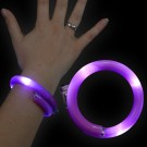 "LED Wickelarmband ""Lila"""