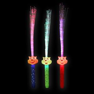 """LED Glasfaserlampe Regenbogen """"Tiger"""""""