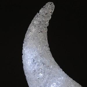 """LED Haarreif """"Weiße Chromhörner"""""""