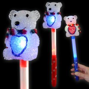 "LED Blitzlaserstab Regenbogen ""Teddy"""