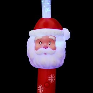 """LED Glasfaserlampe Regenbogen """"Nikolaus"""""""