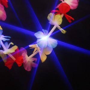 """LED Hawaiikette """"Blau Mit 5 Blauen LEDs"""""""