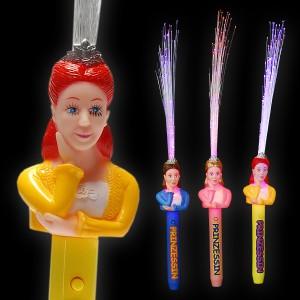 """LED Glasfaserlampe Regenbogen """"Prinzessin"""""""