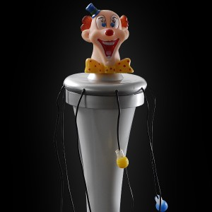 "LED Giga Wirbler ""Clown"""