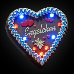 """LED Lebkuchenherz """"Engelchen"""""""