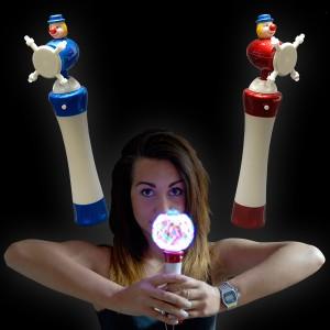 "LED 3D Wirbler ""Clown"""
