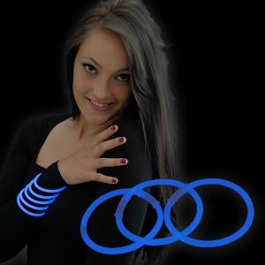 "Miracle Of The Light / Knick Armband (20cm) ""Blau"""