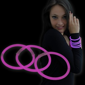 """Miracle Of The Light / Knick Armband (20cm) """"Pink"""""""