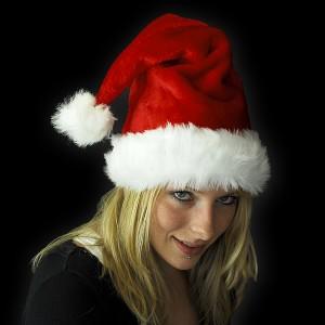 """Weihnachtsmütze Plüsch """"Extra Weich"""""""
