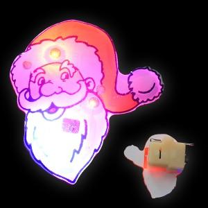 """LED Blinker """"Weihnachtsmann-Gesicht"""""""