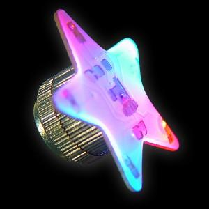 "Magnetblinker ""Stern 2 Blaue & 3 Rote LEDs"""