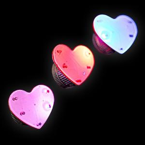 """Magnetblinker """"Herz 2 Blaue & 3 Rote LEDs"""""""