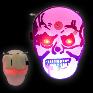 """LED Blinker """"Totenkopf"""""""