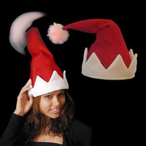 """Weihnachtsmütze """"Wilder Wackler"""" Mit Sound"""