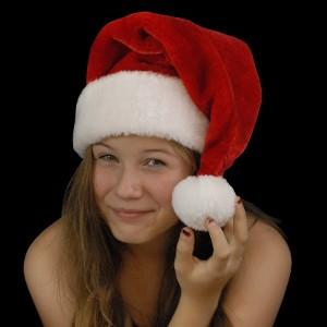 """Weihnachtsmütze """"Mega Plüsch"""""""