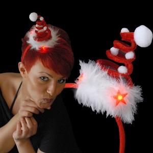 """Weihnachts Mini Mütze """"Flöckchen"""""""