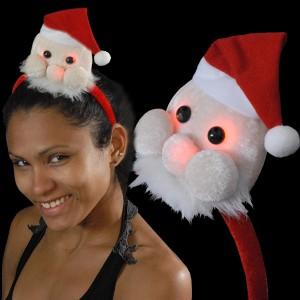 """Weihnachts Haarreif """"Mini-Nikolaus"""""""