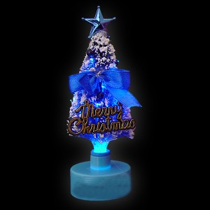 "LED Mini-Tannenbaum ""Blau"""