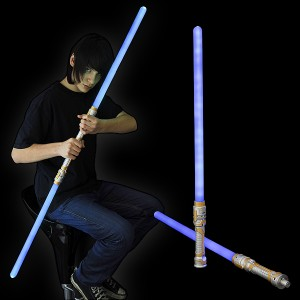 """LED Lanzen Schwert """"Blau 2 Teilig"""""""